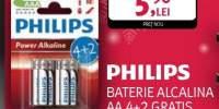 Baterie Alcalina Philips AA 4+2 gratis