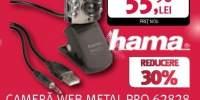 Camera web metal pro Hama 62828