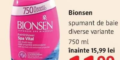 Spumant de baie Bionsen