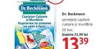 Servetele captare culoare si murdarie Dr. Beckmann