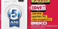 Masina de spalat Beko WMB51232PT