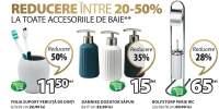 Reduceri intre 20-50% la toate accesoriile de baie