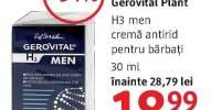 Crema antirid pentru barbati Gerovital Plant