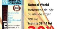 Tratament de par Natural World