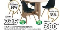 Masa si scaune Obling+Kastrup