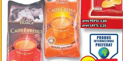 CAsa Blanca, espresso & crema cafea boabe