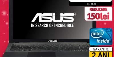 "Laptop ASUS X451CA-VX057D, Intel Celeron 1007U 1.5GHz, 14.0"" HD, 2GB, 500GB, Intel HD Graphics, Free Dos"