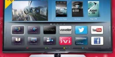 LED TV FULL HD, SMART, PMR 100 HZ, 102 CM, LED40PFL3208H