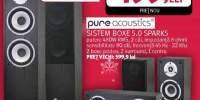 Boxe 5.0 PURE ACOUSTICS Spark 5