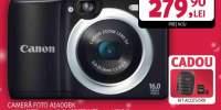 Camera foto digitala CANON A1400, 16 Mp, 5x, 2.7 inch