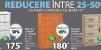 Reducere intre 25-50% la toate comodele cu sertare