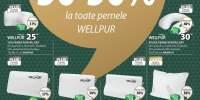Reducere intre 30-50% la toate pernele WellPur