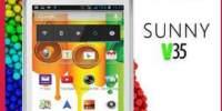 """Smartphone Dual Sim E-BODA Sunny V35, 3.5"""", 2MP, Dual Core, White"""