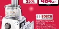 Robot de bucatarie BOSCH MCM4200, Puls, 800W, alb