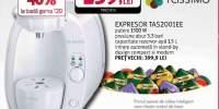Espressor BOSCH TAS2001EE, 1.5l, 1300W, 3.3 bar, alb