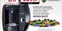 Espressor BOSCH TAS4012EE, 2l, 1300W, 3.3 bar, negru