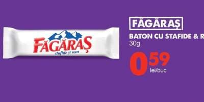Baton cu stafide si rom Fagaras