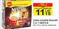 Cafea solubila Nescafe 3 in 1