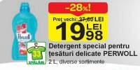 Detergent special pentru tesaturi delicate Perwoll