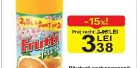 Bautura carbogazoasa Frutii Fresh
