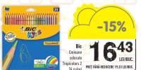 Creioane colorate Bic