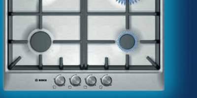 Plita pe gaz inox PCP615B90E