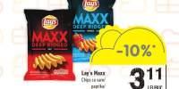 Chips cu sare Lay's Maxx