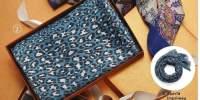 Esarfa Callie/ Artisan/ imprimeu leopard