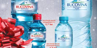 Apa minerala carbogazificata/necarbogazificata Bucovina