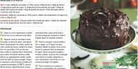 Tort de ciocolata si caramel cu unt sarat