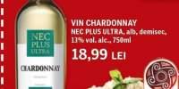 Vin CHardonnay Nec Plus Ultra alb, demisec