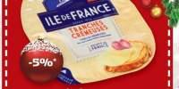 Branza Brie felii Ile de France