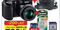 Aparat foto Nikon L320BK + 8GB + Coolkit