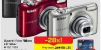 Aparat foto Nikon L27 Silver