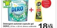 Detergent automat capsule gel Dero 20 buc. x 28 ml