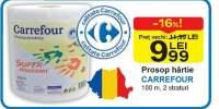Prosop hartie Carrefour