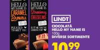 Ciocolata Hello My Name is Lindt