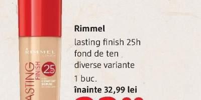 Fond de ten Lasting Finish Rimmel