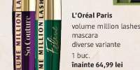 Mascara Volume Million Lashes L'Oreal Paris