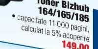 Toner Konica Minolta pentru BIZHUB 164 / 165 / 185