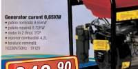 Generator curent 0,65 KW