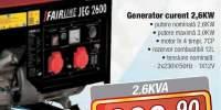 Generator curent 2,6 KW