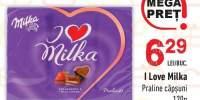 Praline capsuni I Love Milka