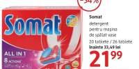 Detergent pentru masina de spalat vase Somat