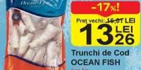 Trunchi de Cod Ocean Fish