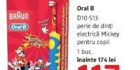 Perie de dinti electrica Michey pentru copii Oral B