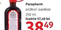 Picaturi suedeze Parapharm