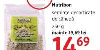 Seminte decorticate de canepa Nutribon