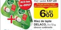 Miez de lapte Delaco