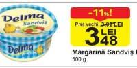 Margarina Sandvis Delma